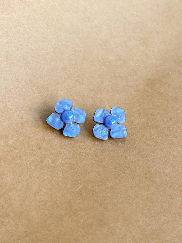 HORTENSIA - korvakorut, sininen