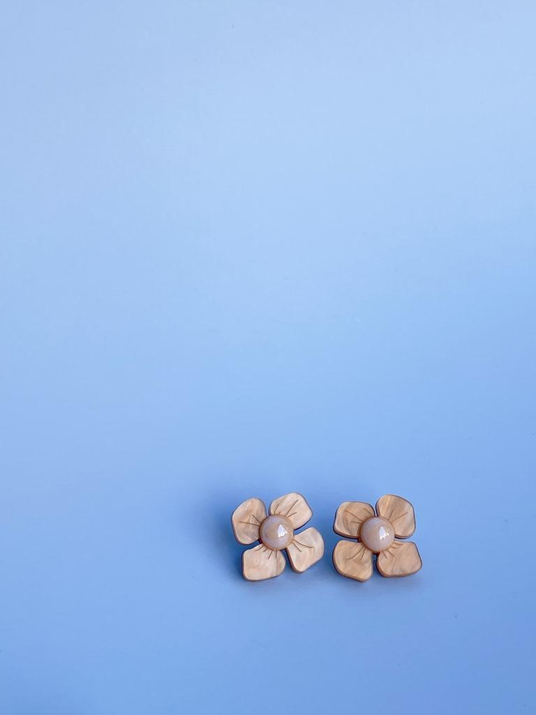 HORTENSIA - korvakorut, beige